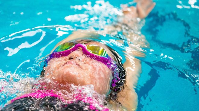 Swimming Fitness Pool Training Session 2