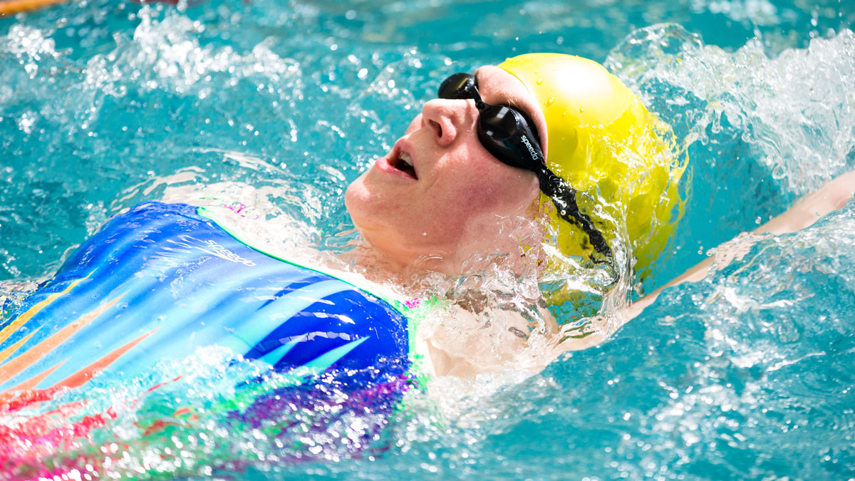 Try our swimming fitness training plan