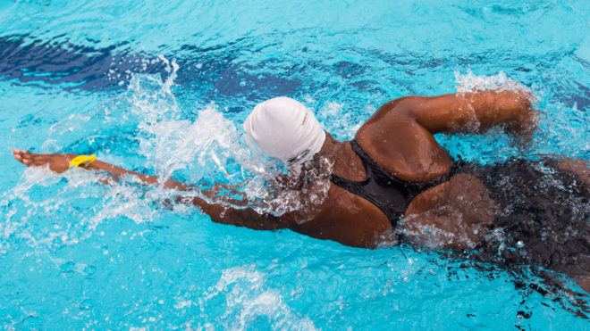 Swimming Fitness Pool Training Session 17