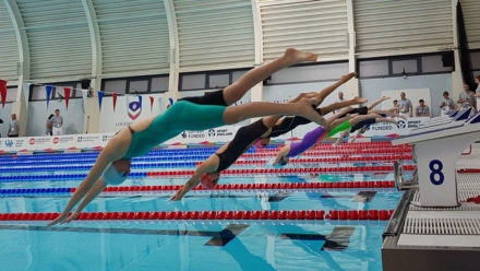 Maisie Macartney takes freestyle double for England East