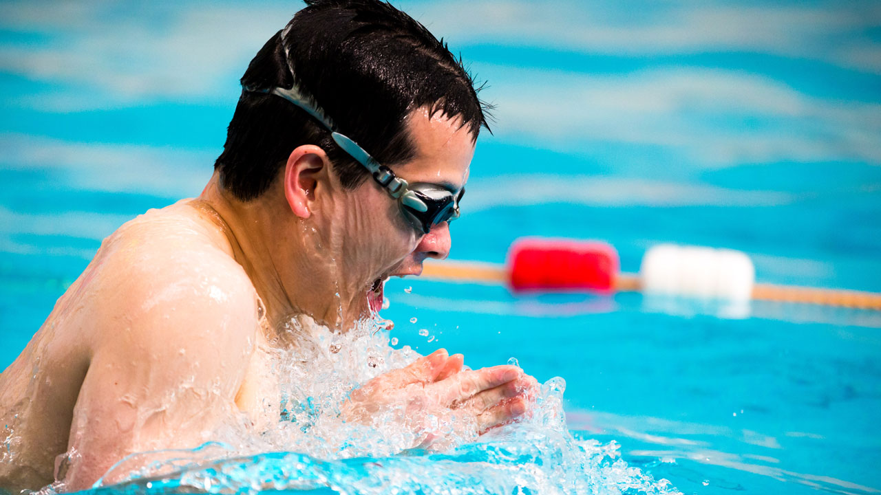 Swimming Fitness Pool Training Session 18