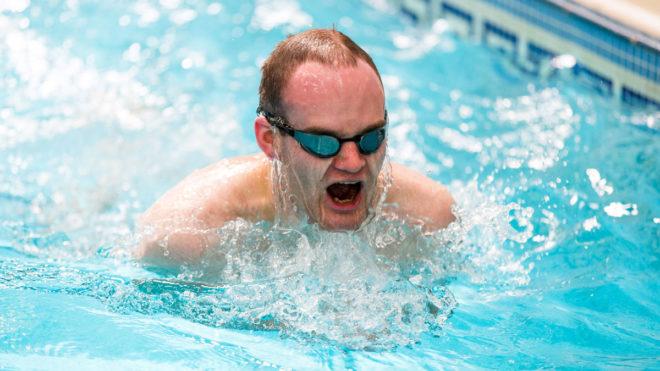 Swimming Fitness Pool Training Session 7