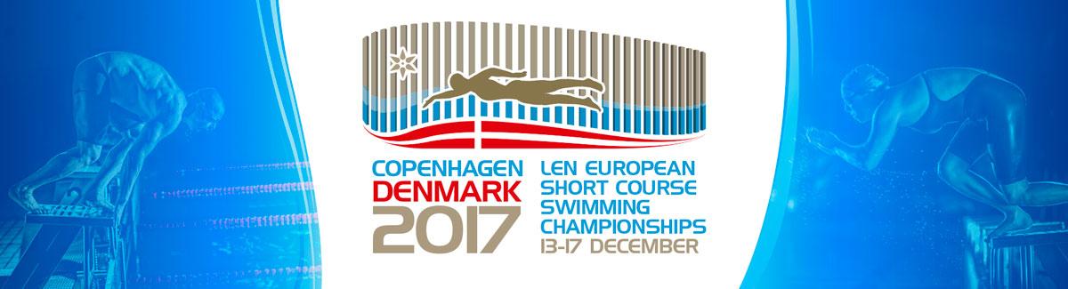 LEN European Short Course Championships 2017 logo