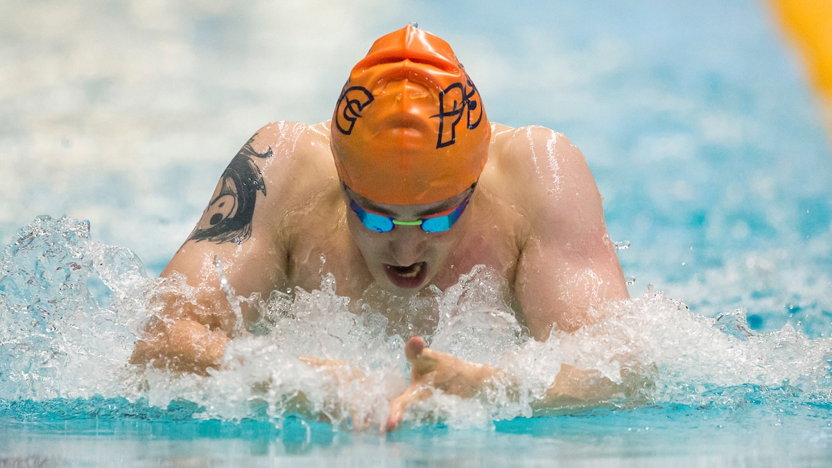 Palmer breaks 50m Breaststroke World record