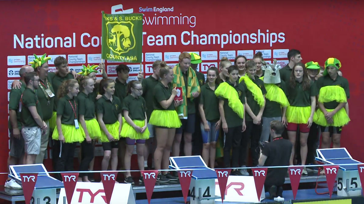 Berkshire & South Bucks win Division Two of 2017 County Team Champs