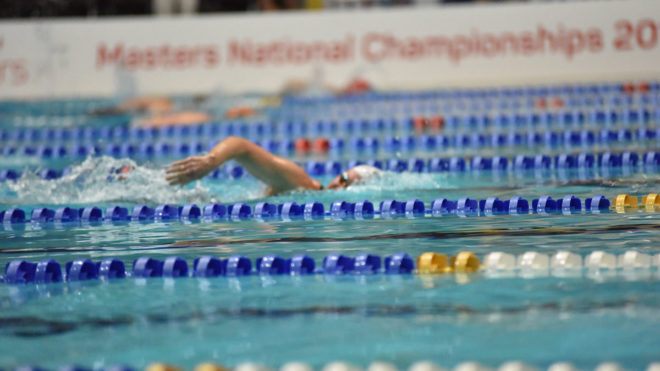 Sophie Casson clocks 400m Free world record in at 2017 Nationals