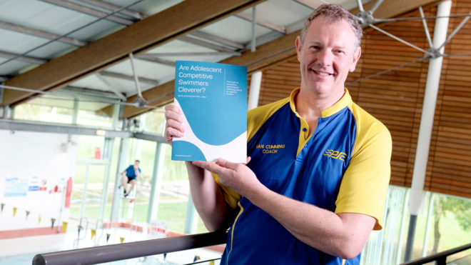 New report shows competitive swimmers can be cleverer