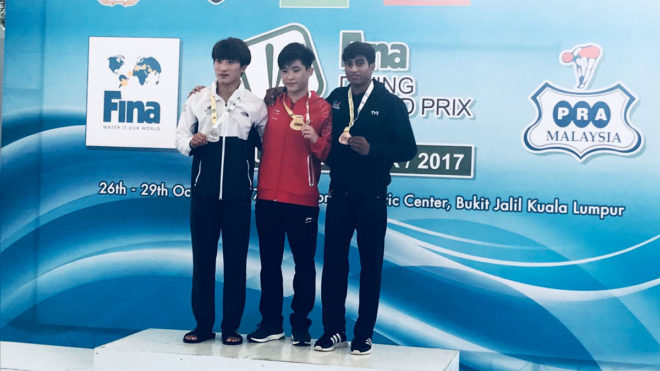Kyle Kothari wins second Grand Prix medal of season