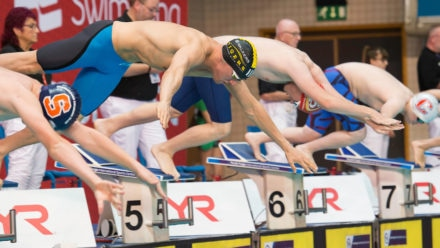 Commonwealth para-swimming qualification at National Winter Champs
