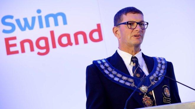 Richard Whitehead elected swimming President 2017-18