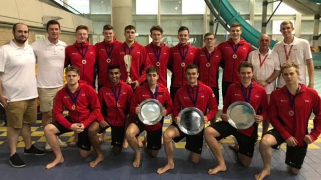 Swim England Water Polo Men's U19 Squad