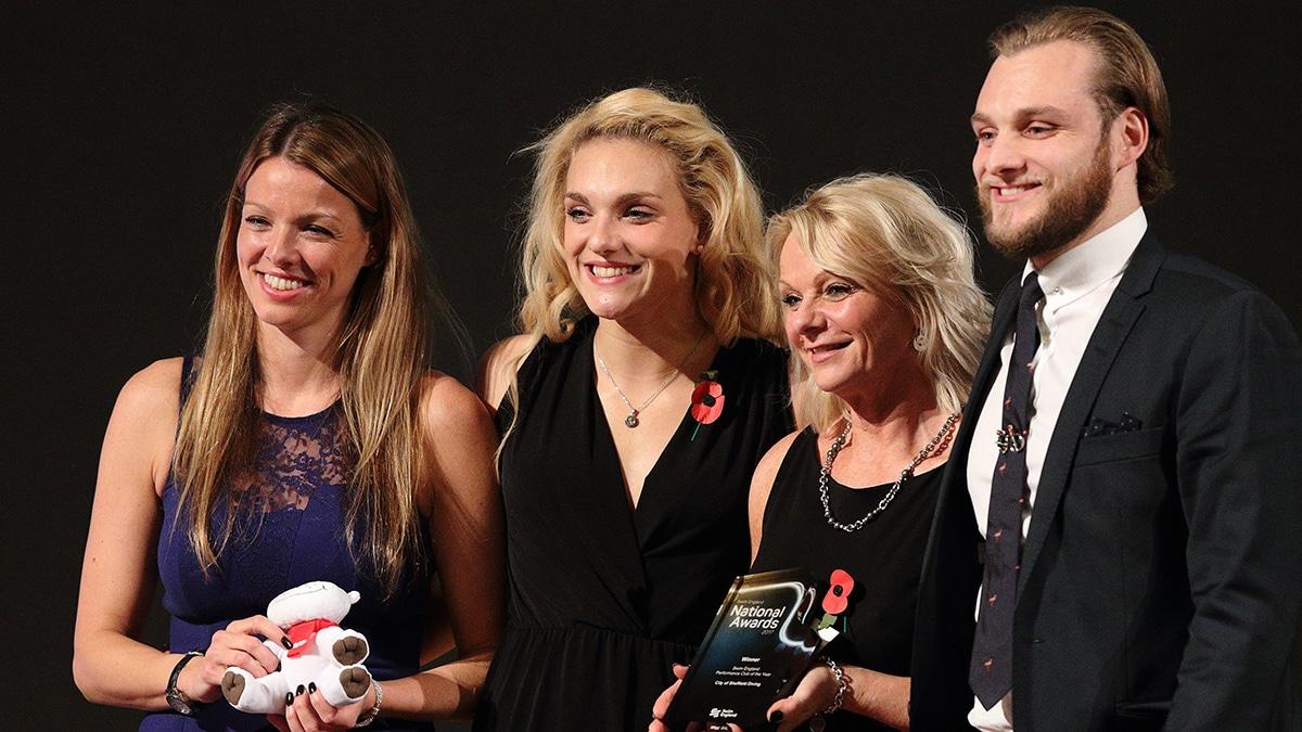 Daley amongst 2017 Swim England National Awards winners