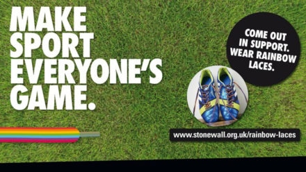 Swim England supports Rainbow Laces launch event