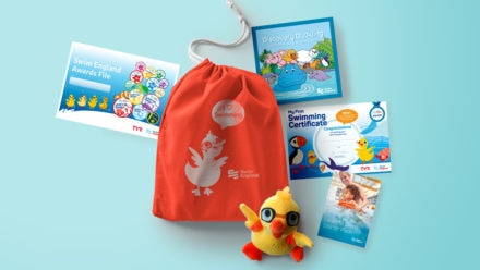 Start your child's swimming journey with the Learn to Swim Starter Pack