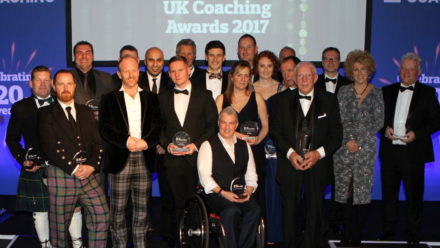 John White awarded UK Coaching Lifetime Achievement Award
