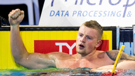 Adam Peaty wins European Short Course gold in Denmark