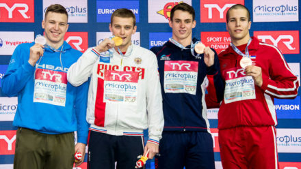 Ben Proud lands second medal of 2017 European Short Course Champs