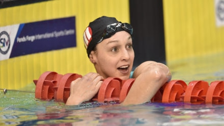 Chloe Golding wins 200m Backstroke title on day four