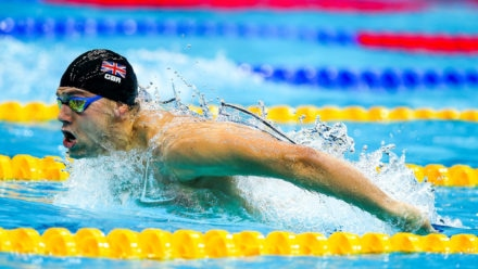 James Guy cruises into 200m Fly final at Winter Champs