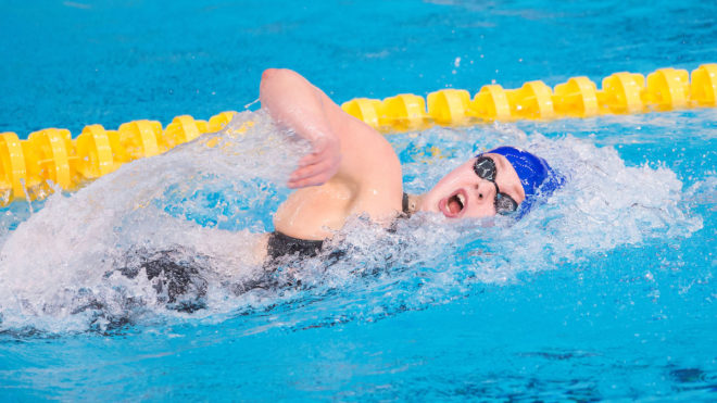 Hibbott and Faulkner set up 400m Freestyle showdown