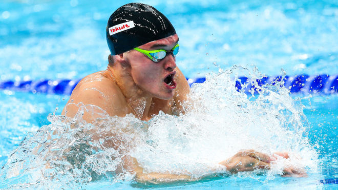 James Wilby on song with sub minute 100m Breast