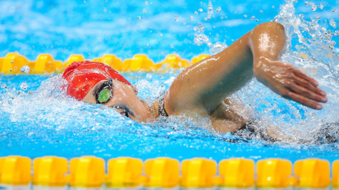 Jessica-Jane Applegate blitzes new world record in final session of National Champs
