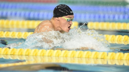 James Wilby wins 200m Breaststroke gold in Edinburgh