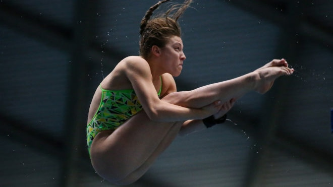 Alicia Blagg dominates women's 3m in Plymouth