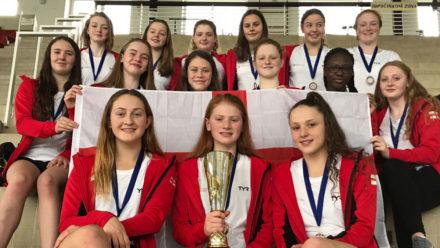Swim England Water Polo Girls' U17 Squad