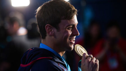 Tom Daley named European diver of the year for 2017
