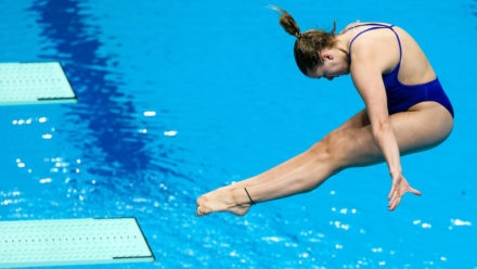 Kat Torrance takes women's 1m Platform title at British Champs