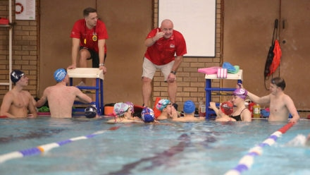 Young swimmers to be supported by new performance centres