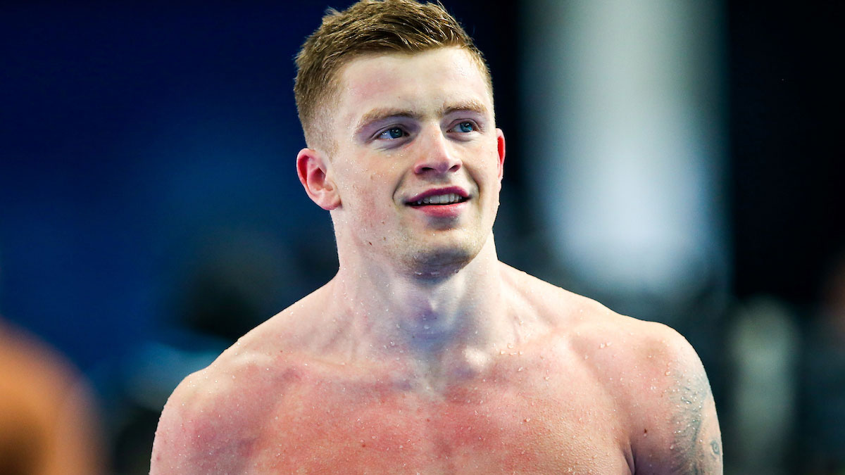 Adam Peaty eases to British breaststroke double