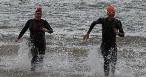 Open water swimmers