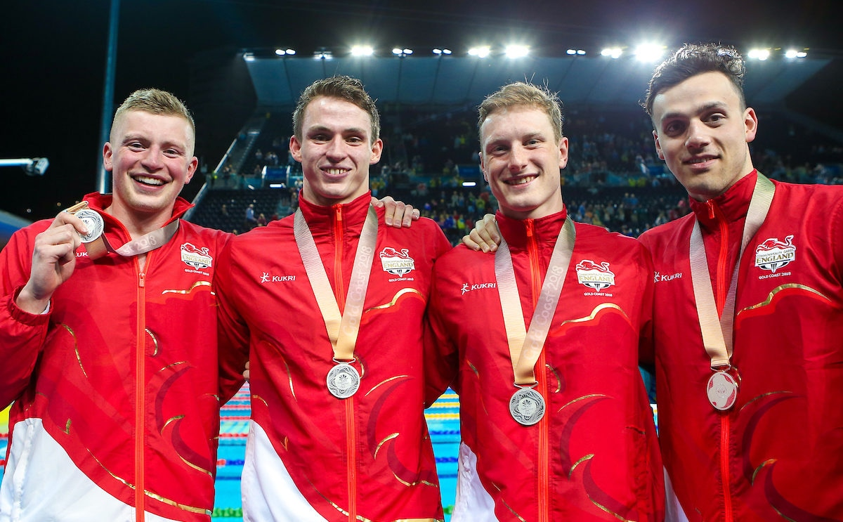 Relay silver for Team England
