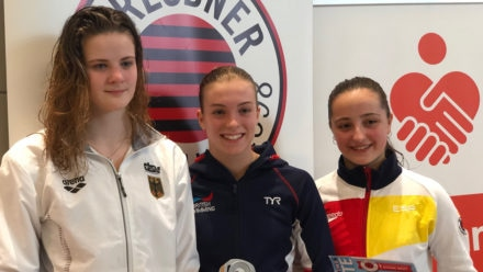 Junior divers claim six medals in Dresden