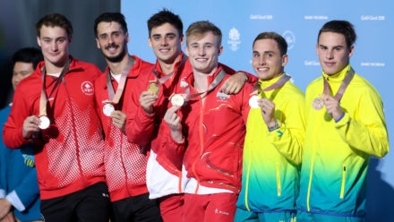 Laugher and Mears defend Gold Coast 3m synchro title