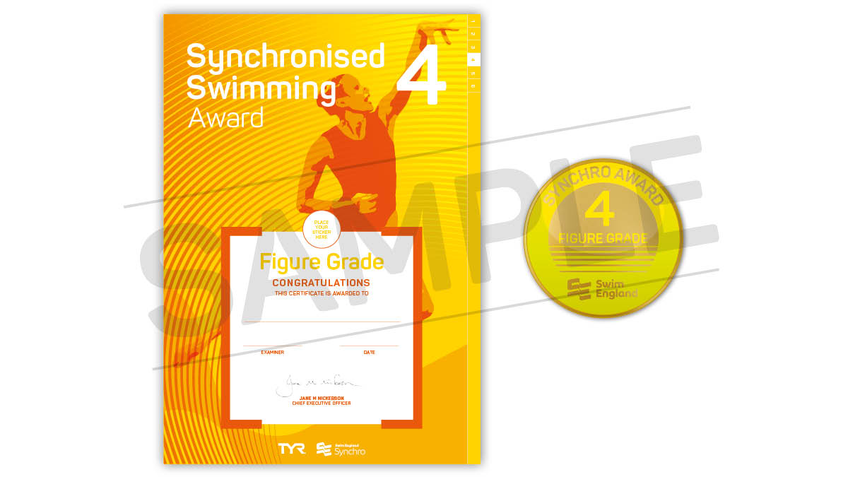 Swim England Synchronised Swimming Figure Grade Awards