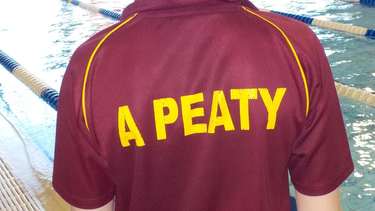 A Peaty swimmer