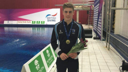 Alfie Brown lifts platform gold on final day in Plymouth