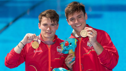 Daley and Goodfellow win Commonwealth Games synchro gold
