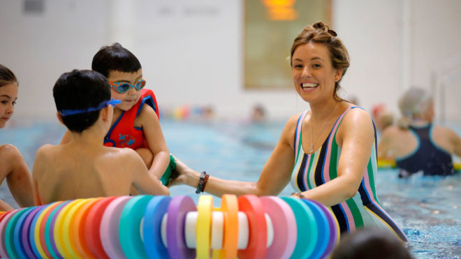 Swimming sector helps parents rediscover family fun in the pool