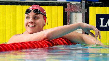 Molly Renshaw wins 200m Breaststroke silver on Gold Coast