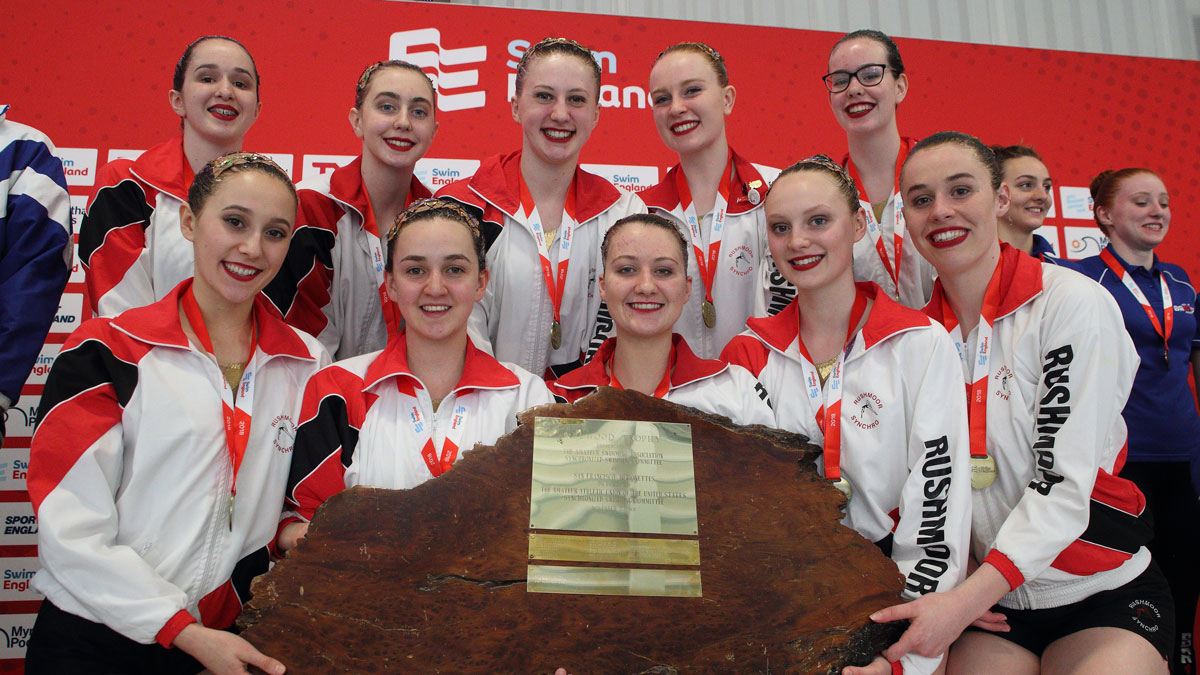 Rushmoor retain Redwood Trophy with golden free routine