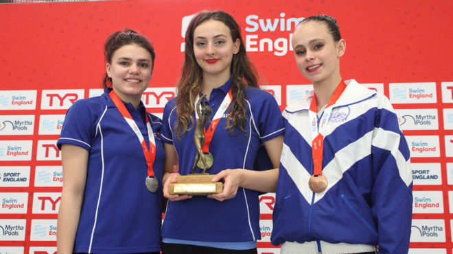 Greta Hampson completes day one hat-trick in Nottingham
