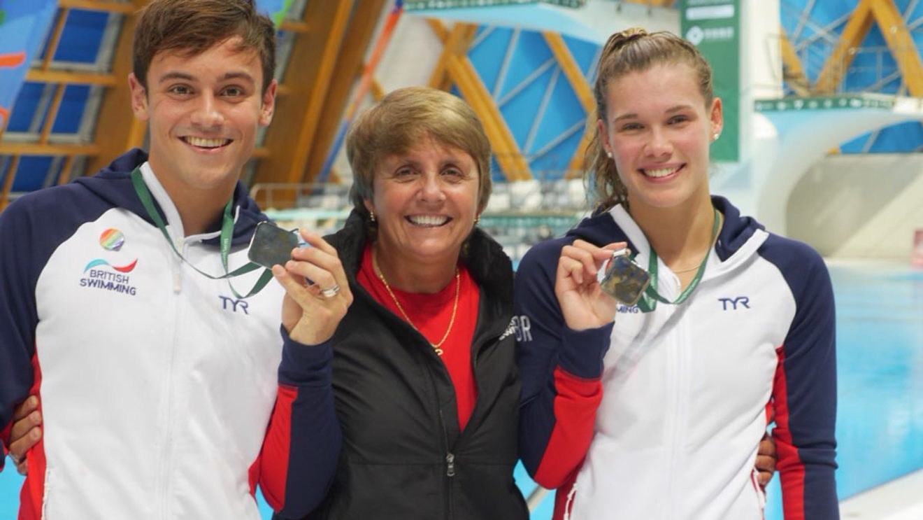 Fourth World Series silver for Daley and Reid