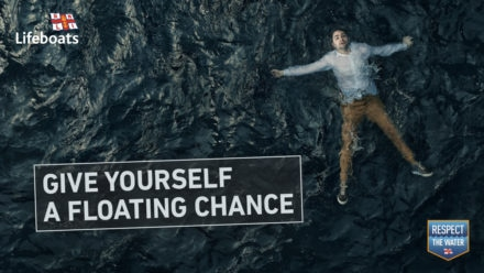 RNLI safety advice helps save lives