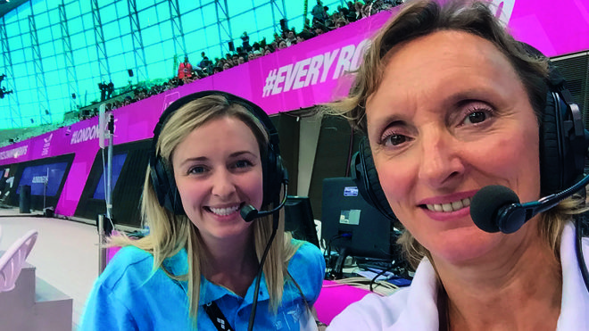 Volunteers' Week: Meet synchronised swimming's 'accidental announcer'