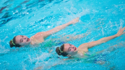 Synchronised swimming squad selected for Glasgow 2018