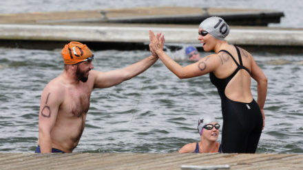 Six tips for your first outdoor swimming challenge